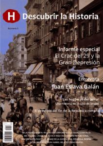 Portada número 3 Descubrir la Historia. descargas - Numero3 portada 212x300 - Revistas