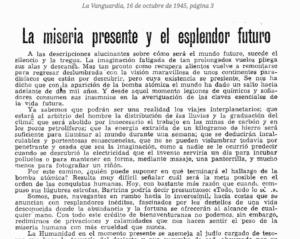 Artículo de La Vanguardia sobre los viajes interplantearios (Proyecto Aracne)