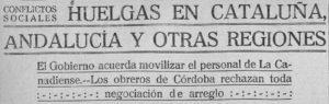 Luchas campesinas - 02  - Luchas campesinas en la provincia de Córdoba entre 1918 y 1920
