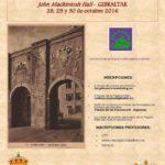 Cartel de las XIII Jornadas de Historia del Campo de Gibraltar