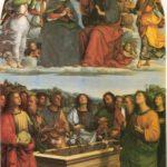 'La Incoronazione della Vergine' (1503), Rafael Sanzio. Museo Vaticano, Roma.