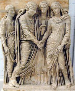 Matrimonio romano (vroma.org). ciudadanía - marriagerelief  - La ciudadanía romana: características y evolución