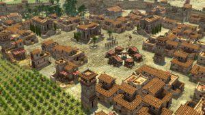 Detalle de una captura de pantalla de los seleúcidas en el videojuego libre y de código abierto 0 A.D.