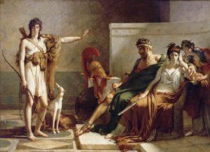 'Fedra e Hipólito' (1802), de Pierre Narcisse Guérin (Museo del Louvre). Fedra - Fedra e Hip  lito - El mito de Fedra
