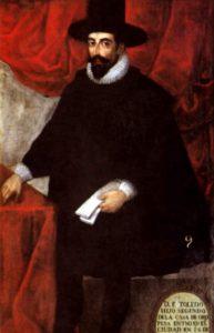 Francisco Álvarez de Toledo (Wikimedia). Potosí - Francisco   lvarez de Toledo Wikimedia - Plata, sangre y poder: la lucha entre vascongados y vicuñas en el Potosí colonial