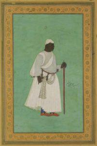 Malik Ambar, rey de Ahmadnagar en todo menos en nombre (Wikimedia).