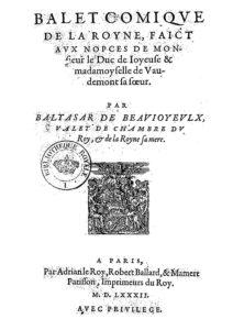 violín - Title from Ballet comique de la reine 212x300 - El violín en la Historia (III). Aproximación a una teoría sobre su origen en clave ibérica