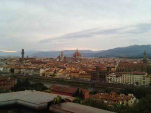 Vista Panorámica de Florencia en la actualidad. médici - Vista Panor  mica de Florencia en la actualidad insertar en p  gina 1 300x225 - El auge de los Médici en tiempos de Cosme el Viejo (1389-1464)