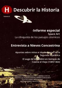 Portada del número 8 de 'Descubrir la Historia'. descargas - portadaDlH8 213x300 - Revistas