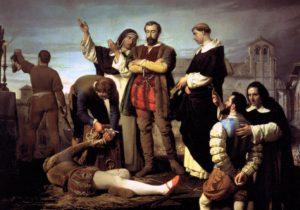 Muerte - Comuneros  - El cierre. Muerte e historia