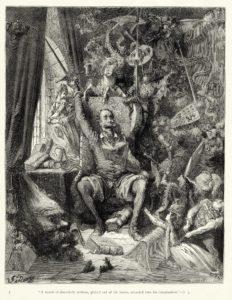 Cervantes - Una de las m  ltiples ilustraciones que realiz   el artista Gustave Dor   para El Quijote - La huella imborrable del ingenioso 'manco de Lepanto'