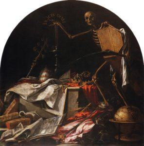 Muerte - Valdes Leal   In Ictu Oculi  - El cierre. Muerte e historia
