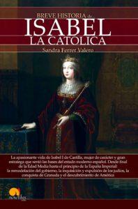 Portada de 'Breve Historia de Isabel la Católica'.