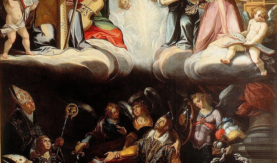 'Tránsito de San Hermenegildo' (ca. 1602). Alonso Vázquez (ca. 1540-1608) y Juan de Uceda (1570-1631). Museo de Bellas Artes (Sevilla).