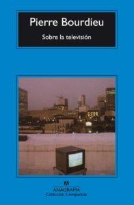 Portada de 'Sobre la televisión'.