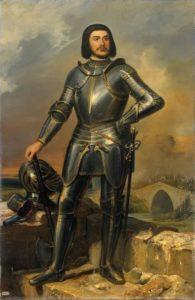 Retrato imaginado de Gilles de Rais (Wikimedia).