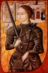 Óleo sobre pergamino del siglo XV, de Archivos Nacionales de Francia (Wikimedia).