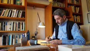 El autor de la novela, Bernar Freiría