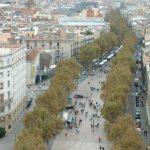 Rambla de Barcelona, en una fotografía del año 2004 (Wikimedia).