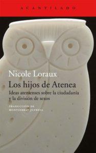 Portada de 'Los hijos de Atenea' | Acantilado.