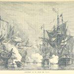 Ilustración de 1887 de la Batalla de Ulúa | Wikimedia.