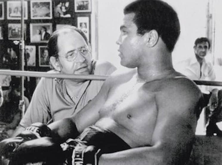 Pacheco con Ali.