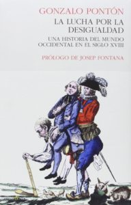Portada de 'La lucha por la desigualdad', de Gonzalo Pontón.