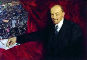 Lenin, por Isaak Brodsky (Wikimedia).