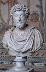 Busto de Marco Aurelio en la Gliptoteca de Múnich (Wikimedia).