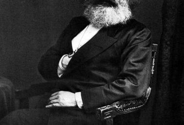 Karl Marx en 1875 (Wikimedia).