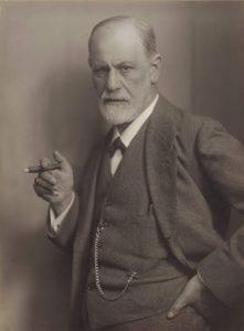 Sigmund Freud (Wikimedia).