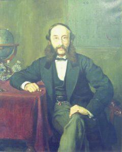 Paul Julius Reuter en 1869 (Wikimedia).