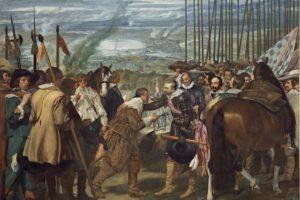La rendición de Breda o Las lanzas. Obra de Velázquez ubicada en el Museo del Prado (Wikimedia).
