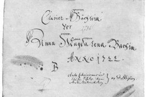 Anna Magdalena Bach.