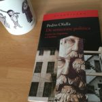 Portada del libro 'De senectute politica', de Pedro Olalla en Acantilado.