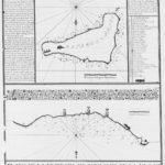 El mapa de la isla de Pascua de la expedición de González Haedo en 1770. Fue denominada isla de San Carlos (Wikimedia).