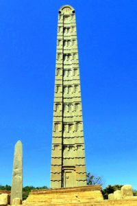 Obelisco de Aksum (Esther Núñez).