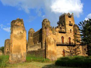Fortaleza de Fasilides, siglos XVI-XVII (Esther Núñez).