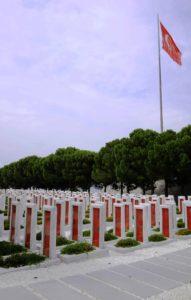 Memorial turco de la batalla de Galípoli (Paula Villegas).