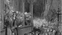 La Cruzada Infantil, por el ilustrador Gustave Doré (Wikimedia).