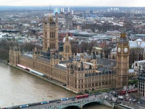 Palacio de Westminster (Wikimedia).