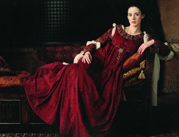 Pilar López de Ayala en el papel de Juana la loca (Wikimedia).