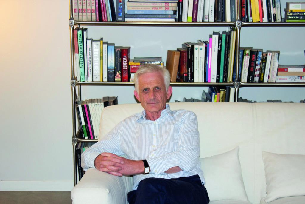 El historiador Roger Crowley (Fotografía cedida por Ático de los Libros).
