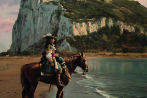El último de Gibraltar, cuadro de Augusto Ferrer-Dalmau (Wikimedia).