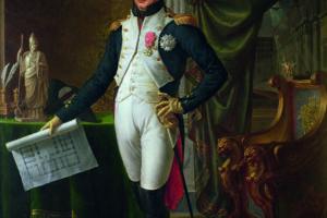Retrato de José Bonaparte por Jean Baptiste Joseph Wicar (Wikimedia).