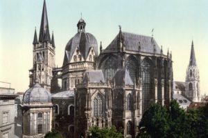 Catedral de Aquisgrán (Wikimedia).
