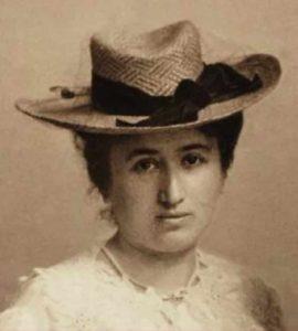Rosa Luxemburgo hacia 1895-1900 (WIkimedia)