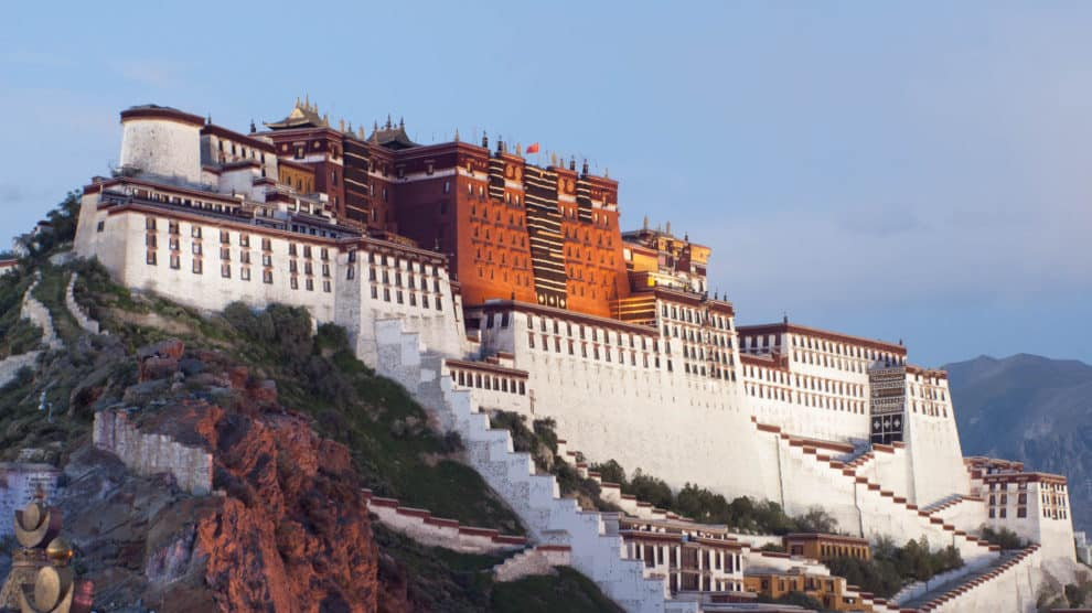 Palacio del Dalai Lama en Lhasa.