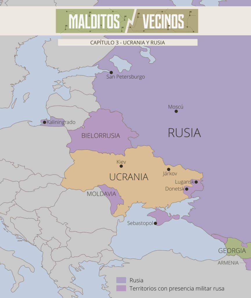 Malditos Vecinos Ucrania Y Rusia Tensiones Del Pasado