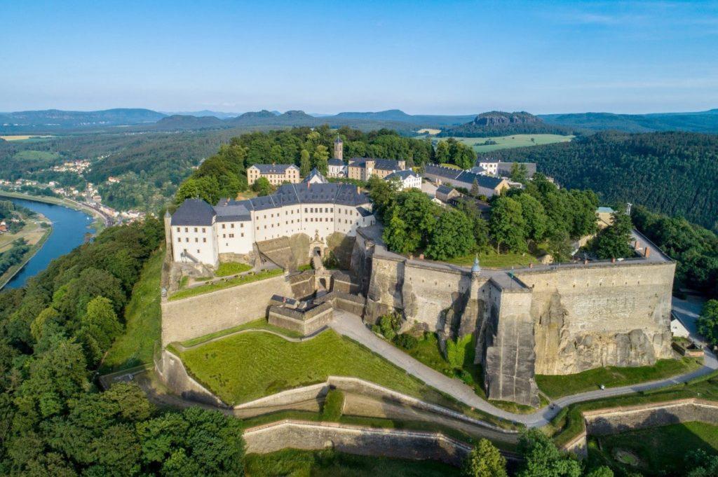 Fortaleza Königstein, Sajonia, Alemania.